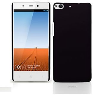 Wow Matte Rubberized Finish Hard Case For Gionee Elife E6 -Black MTGEE6Black