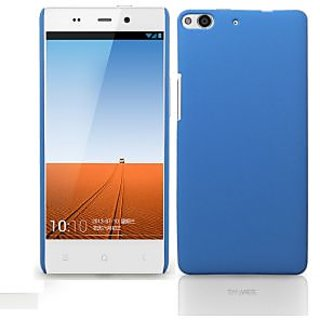 Wow Matte Rubberized Finish Hard Case For Gionee Elife E6 -Light Blue MTGEE6LBlue