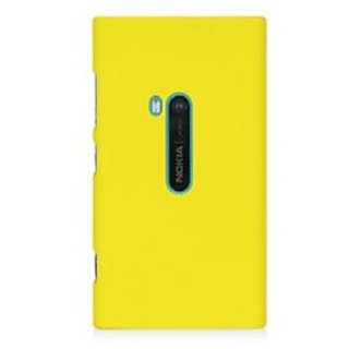 Wow Matte Rubberized Finish Hard Case For Nokia Lumia 920-Yellow MTNL920Yellow