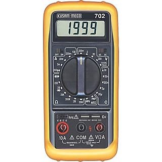 digital multimeter KM 702 make KUSAM MECO