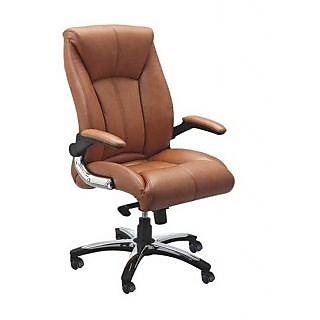 Mavi Yellow Executive High Back Chair-DHB-133