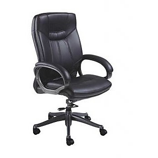 Mavi Black Executive High Back Chair-DHB-455