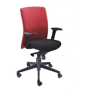 Mavi Executive Red Medium Back Chair-DMB-494