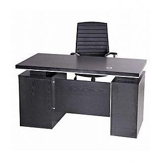 Mavi Black Executive Office Table-DET-112