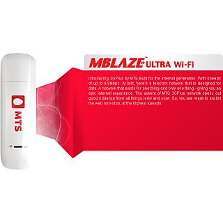 MTS 3G+ WIFI Data Card 10 GB Unlimited Plan
