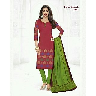 cb6ea7b4e6c8 Cotton Dress Materials Prices in India- Shopclues- Online Shopping Store