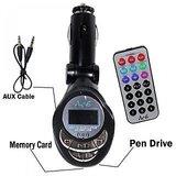 Car 4-in-1 Mp3 Wireless Modulator / FM Transmitter + Remote High Quality