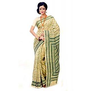 Tasar Designer Silk Saree Dscb1106