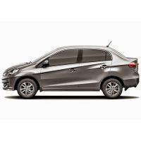Car Side Beading For Honda Amaze  Silver Colour