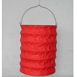Paper Candle Lantern Pack Of 2