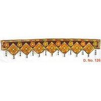Velvet Embroidary Toran (Wall Hanging)Kachchhi Toran