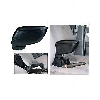 Autosun Car Armrest Centre Console Black Colour Universal Size