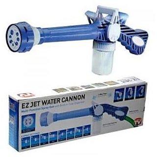 Ez Jet Water Cannon 8 In1 Turbo Water Spray Gun Jet Gun Water Pressure Spray Gun
