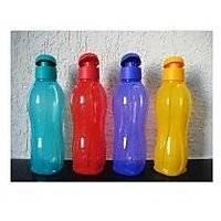 TUPPERWARE AQUASAFE FLIP TOP WATER BOTTLE (Set Of 4)