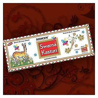 Moksh Swarna Agarbatti - Kasturi ( Pack of 6 )