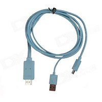Micro USB To HDMI Smart Phone HDTV MHL Adapter Cable For Samsung Galaxy S II / LTE /Nexus / Note,HTC One X / XL / EVO 3D / Flyer / Sensation / Amaze 4G