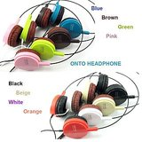 Onto Headphones Earphone In All Color Red White Pink Black Blue