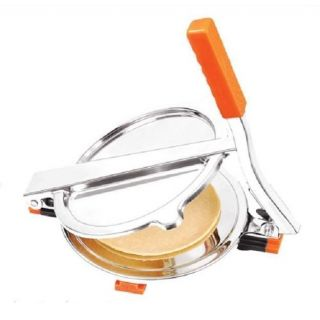 Manual Stainless Steel Press Puri Maker With Free 1 Scissor
