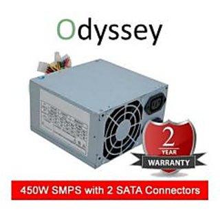 Odyssey - 450W Computer Power Supply SMPS+2 Yrs Waranty