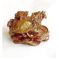 Dragon Headed Tortoise With Baby This Legendary Symbol Combines The Awesome Powers And Attributes Of The Dragon And The Tortoise. These Are Two Of The Most Spiritually Endowed Creatures Of Chinese Symbolism.  The Image Is That Of A Creature With The Body