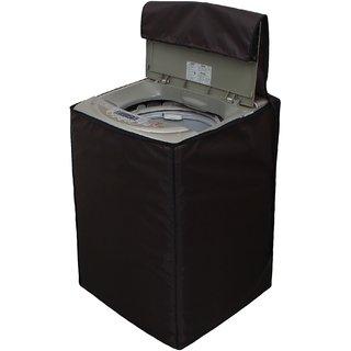 Glassiano Coffee Waterproof  Dustproof Washing Machine Cover For PANASONIC NA-F70H5 fully automatic 7 kg washing machine