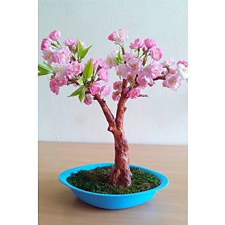 Cherry blossom bonsai tree in india shopclues online handmade cherry blossom bonsai tree mightylinksfo