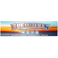 Elements King Size Slim Rolling Paper-32 Leaves