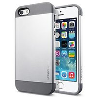 Slim Armor Hybrid IPhone 5/5S Case - Silver