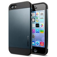 Slim Armor Hybrid IPhone 5/5S Case - Navy Blue
