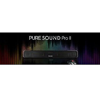 PORTRONICS PURE SOUND PRO BT 2 BLUETOOTH SPEAKER+SOUND BAR-FM RADIO-AUX-USB