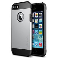 Tough Armor Hybrid IPhone 5/5S Case -Silver