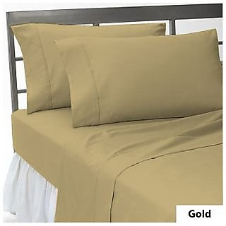 Smooth Cotton 300 TC Large Bed Sheet (STD3BD119)