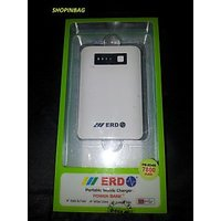 ERD 7800 MAh Portable Mobile Charger USB Power Bank With Warranty. 100% Original