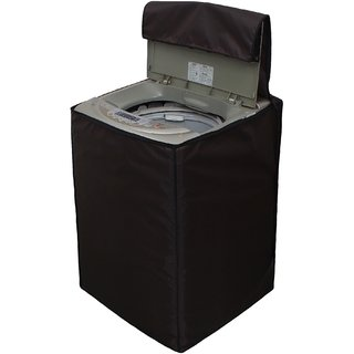 Glassiano Printed Waterproof  Dustproof Washing Machine Cover For Videocon digi zaara fully automatic 7 kg washing machine