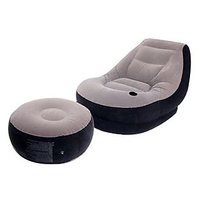 EI-Intex Inflatable Comfortable Beanbag Sofa With Foot Pump By V&G