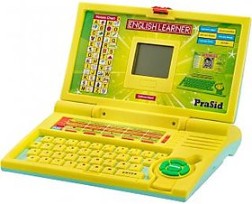 Prasid English Learner Kids Laptop (LemonSky)