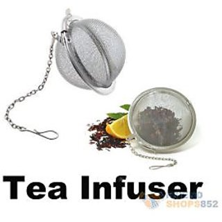 PREMIUM QUALITY Stainless Steel Tea Infuser Mesh Ball Tong for Brewing Green Tea