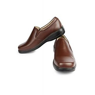 Liberty Gliders Brown Formal Footwear For Mens