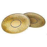 Plate - Lunch / Dinner / Snack / Breakfast Serving Plate - Dinnerware - Set Of 2