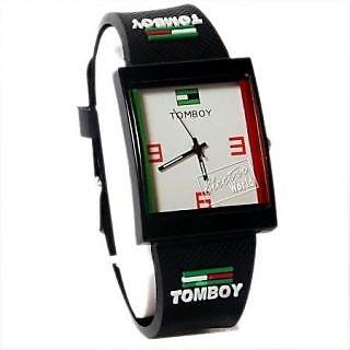 Tomboy Wrist Watch For Kids_Black