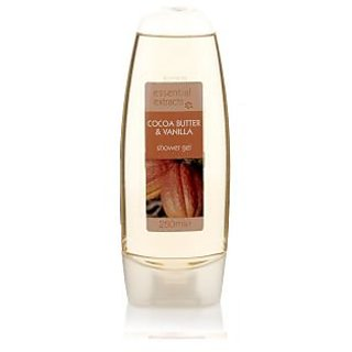 Essential Extracts Cocoa Butter And Vanilla Shower Gel-250ml