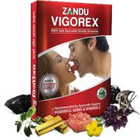 Zandu Vigorex Capsules Pack Of 40 Capsules