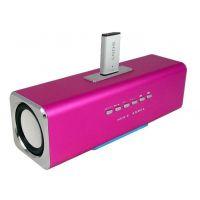 Portable Rechargeable Mini Hi-Fi Speaker MP3 Player FM Radio Duel Speaker