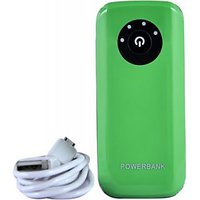 Lappymaster 5600 MAh Power Bank Green Eco Friendly(Green)