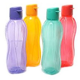 Tupperware 750 Ml Flip Water Bottle (Set of 4 bottles)