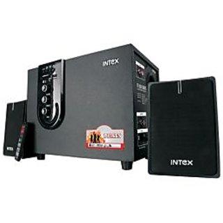 Intex 2.1 Computer Multimedia speaker IT-1800 W USB  SD