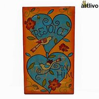 Artlivo Rejoice In Him Bird Painting On Wood Pa005