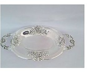Silver toffee tray small