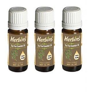 Herbins Tea Tree Essential Oil Combo - 3
