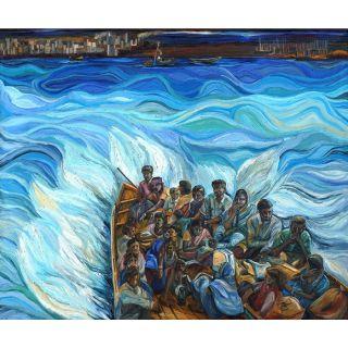 Exodus Oil Cnvas Painting